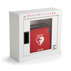 Philips HeartStart Basic AED Wall Cabinet with Alarm